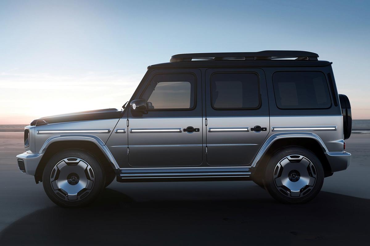 2021 IAA München: Mercedes EQG Concept