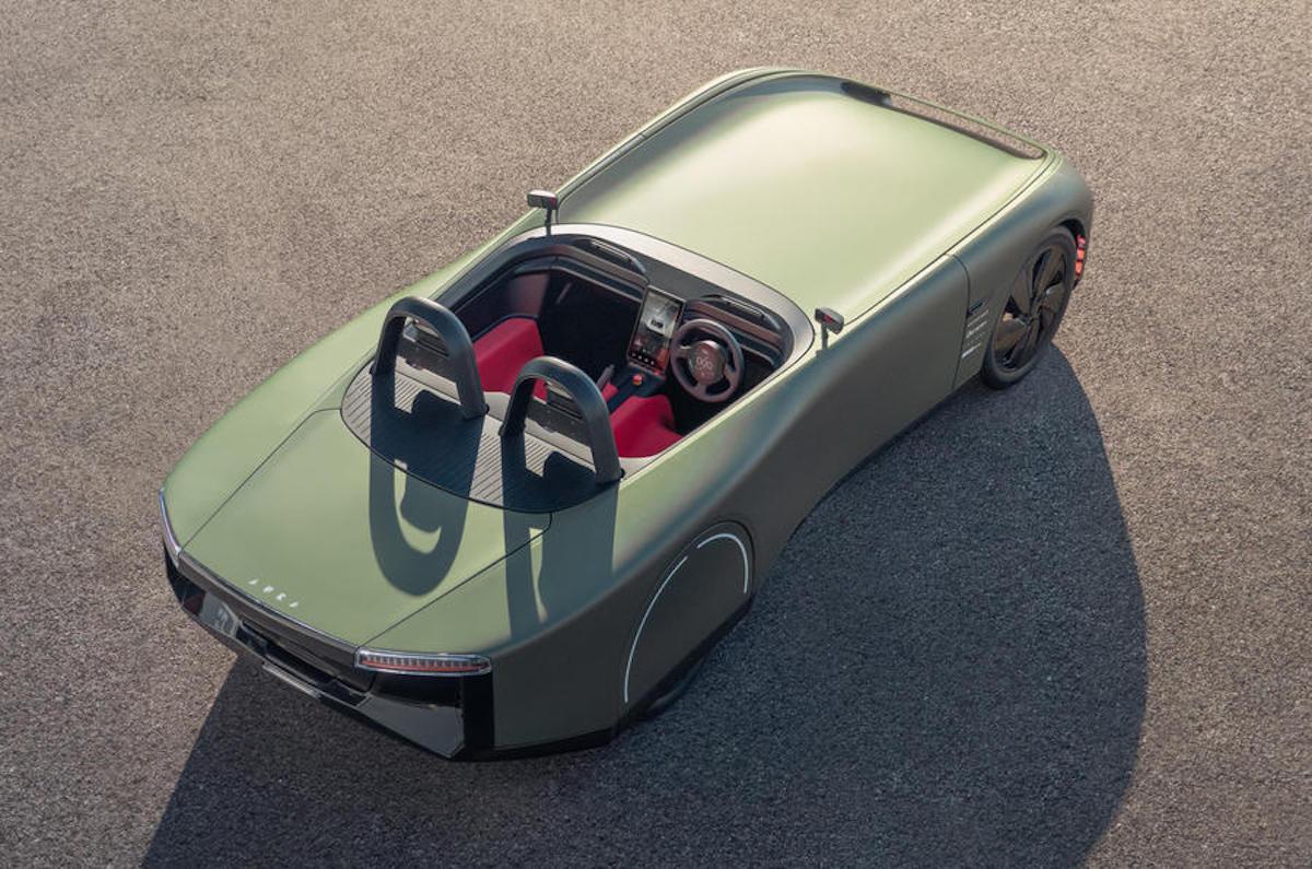 Aura Concept 2021 - British EV roadster