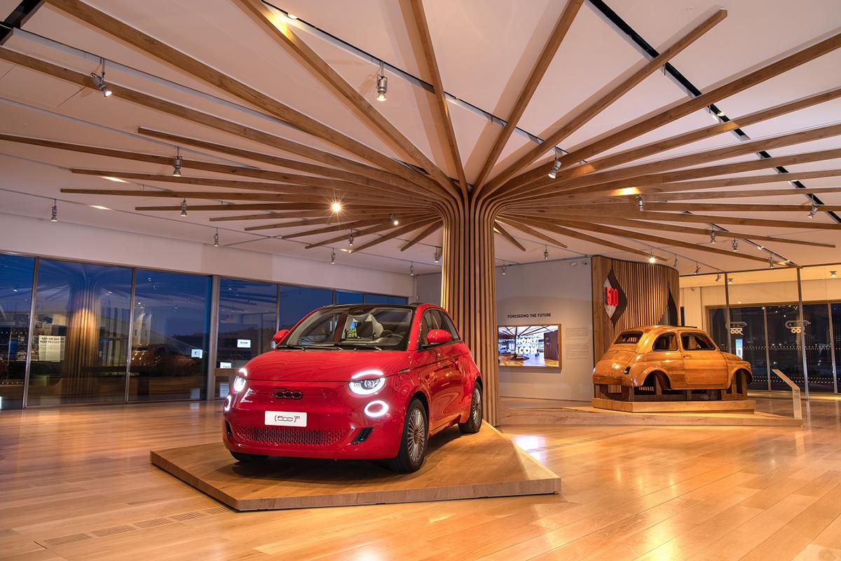 Fiat 500 (RED) - Casa 500
