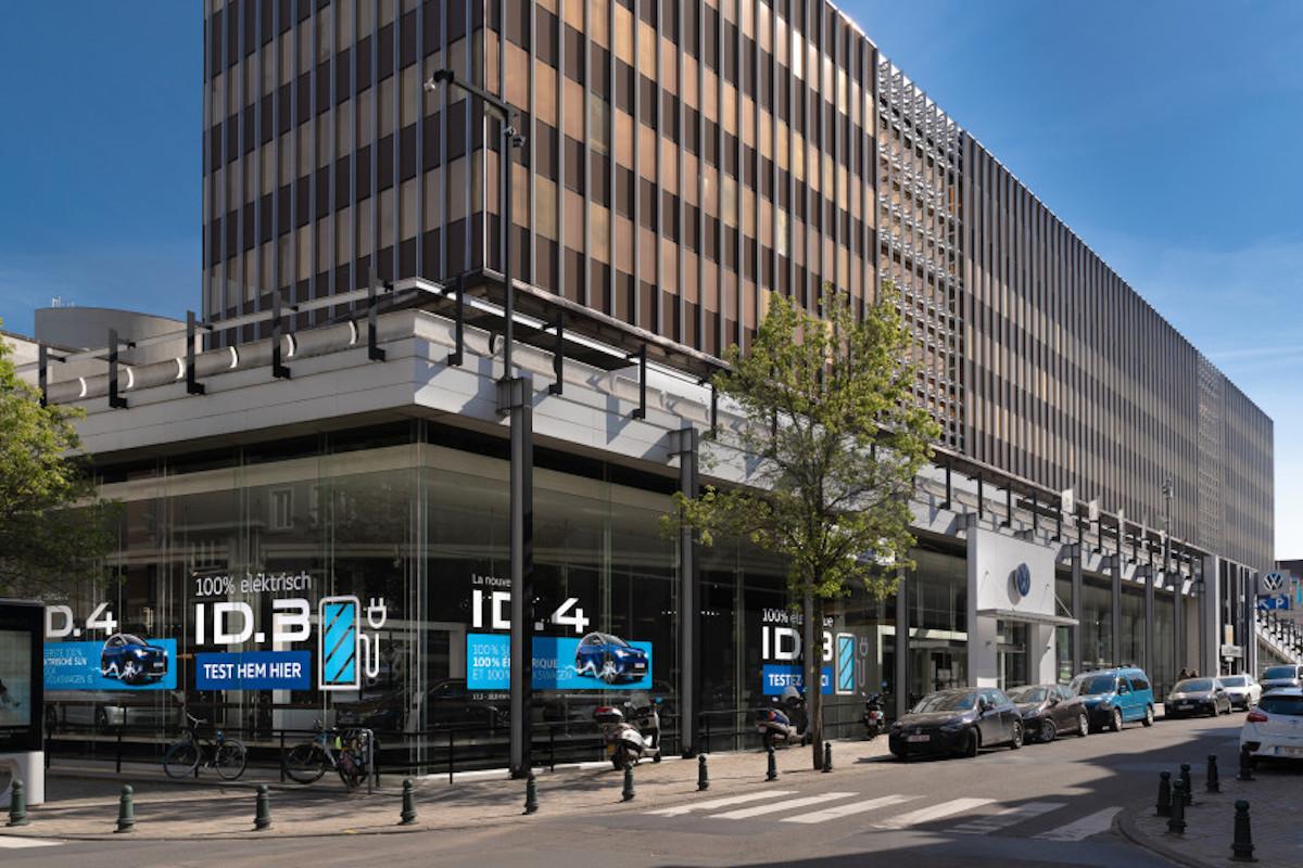 D'Ieteren sluit D'Ieteren Center Mail
