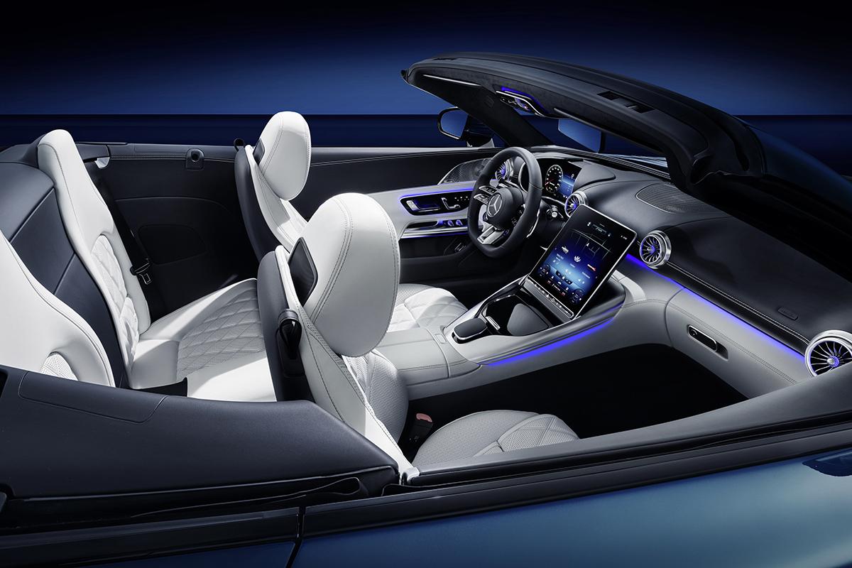 Mercedes SL MBUX