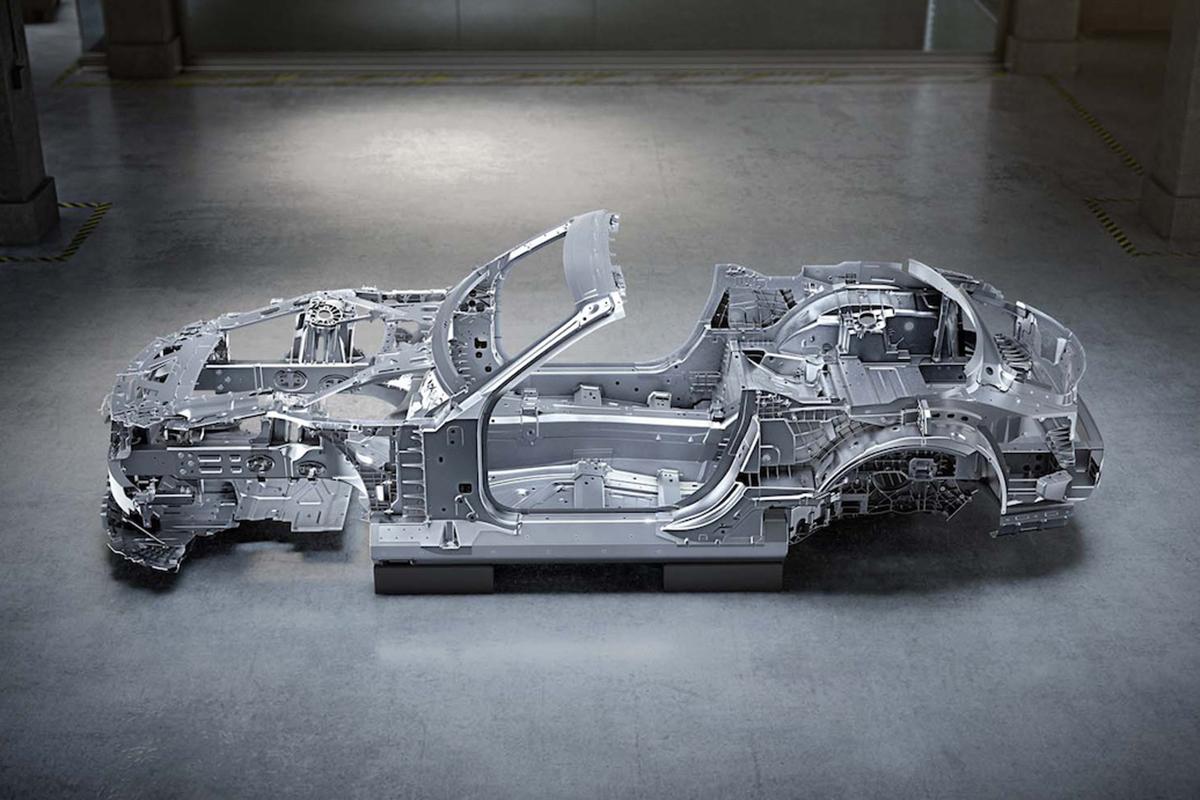 Mercedes SL MSA