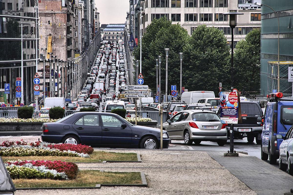 Kilometerheffing Brussel SmartMove