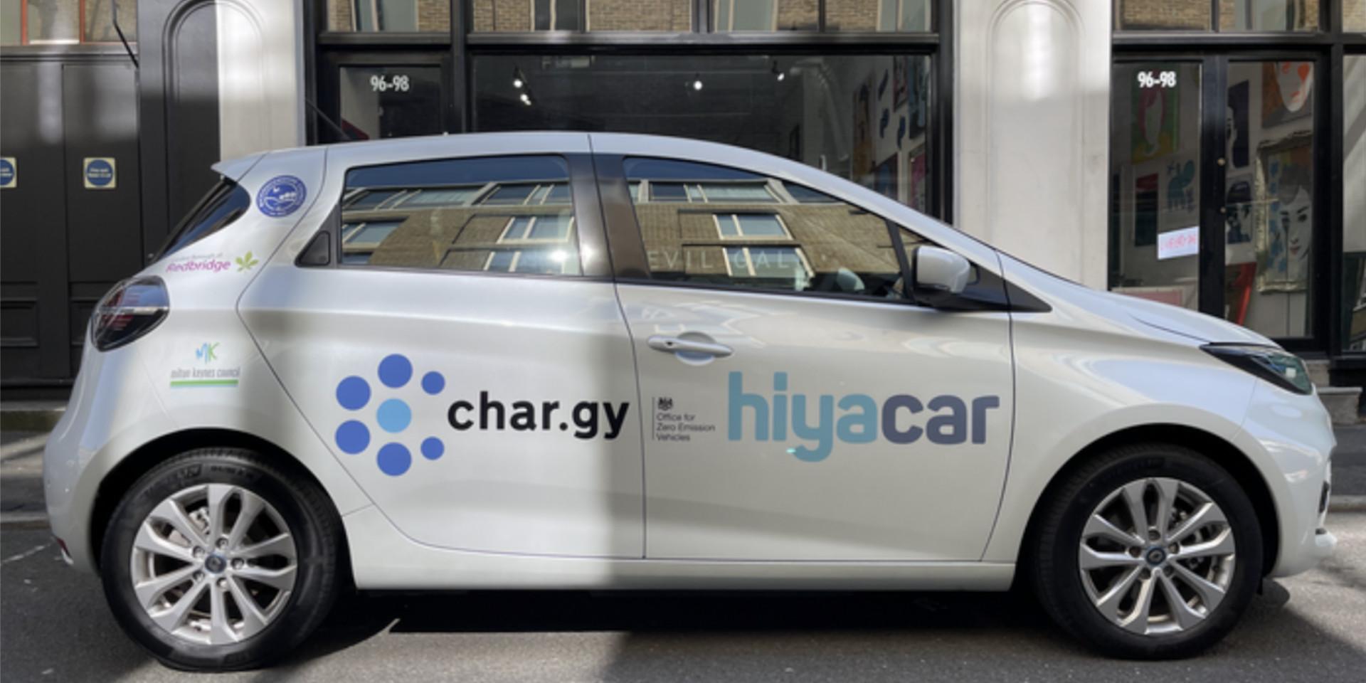 Char.gy - Hiyacar Wireless charging car