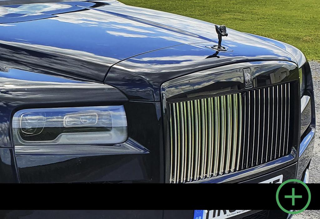 Blog / Rolls-Royce Cullinan Black Badge / AutoGids