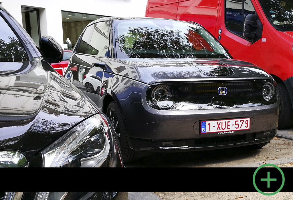 Blog / Honda e Advance / Moniteur Automobile