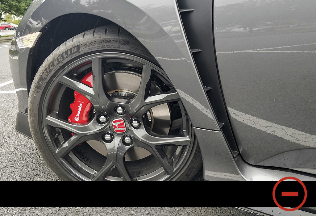 Essai Blog / Honda Civic Type R Sport Line / Moniteur Automobile