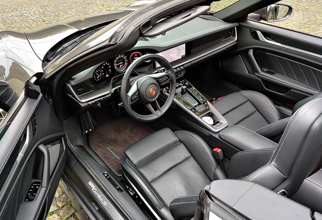 Test Porsche 911 Turbo S Cabrio - AutoWereld (Klaas Janssens)