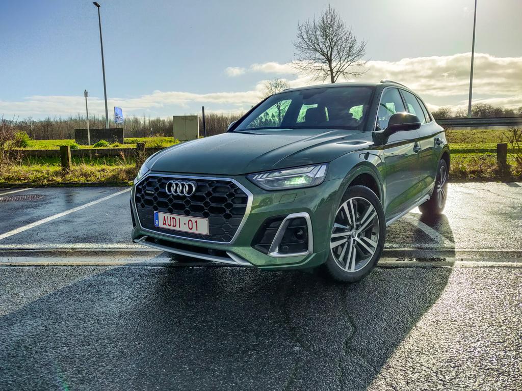 Test Audi Q5 Facelift - AutoWereld 2021