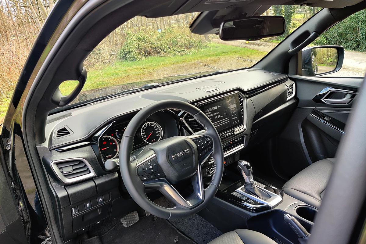 Test 2021 Isuzu D-Max - Review AutoWereld