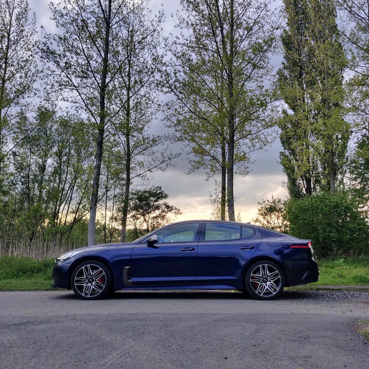 Test 2021 Kia Stinger GT facelift - Review AutoGids