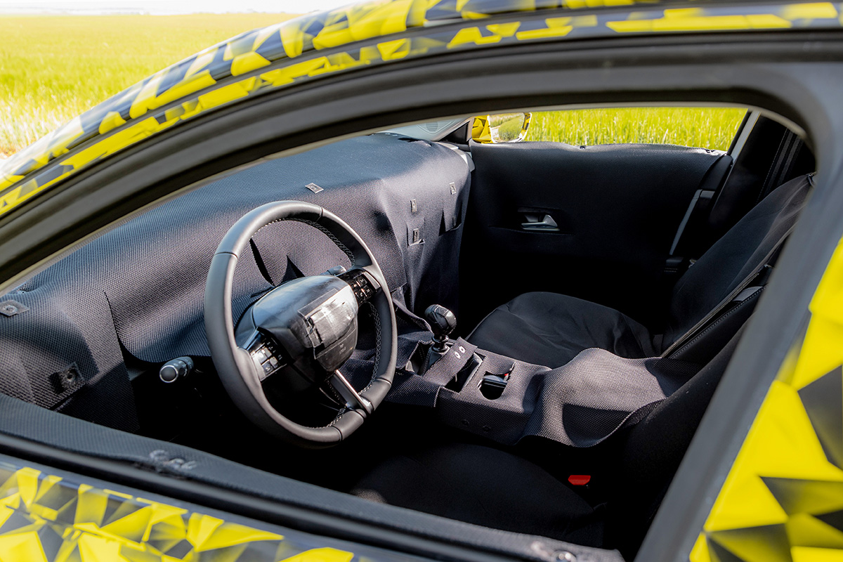 Test 2021 Opel Astra Prototype - Review AutoGids