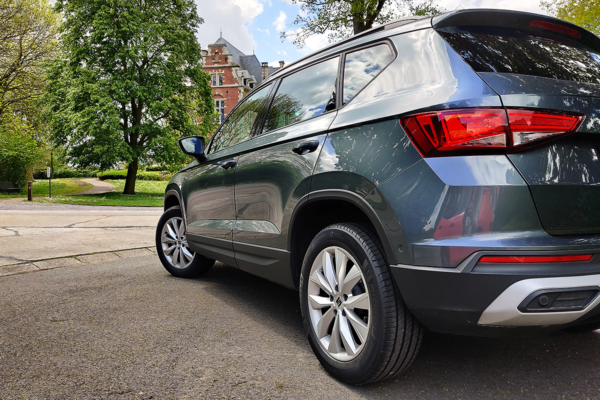 Test 2021 Seat Ateca 1.0 TSI (facelift) - Review AutoGids