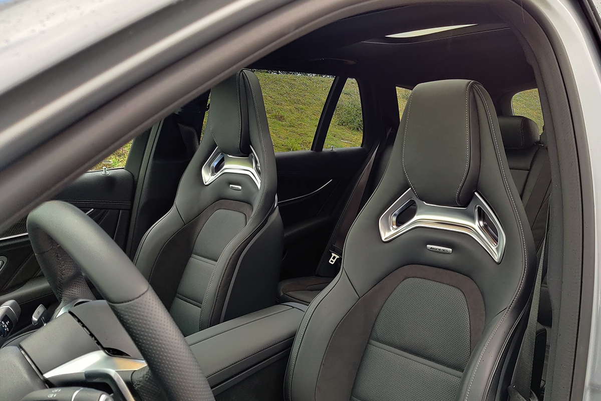 Test 2021 Mercedes-AMG E53 Break - Review AutoWereld
