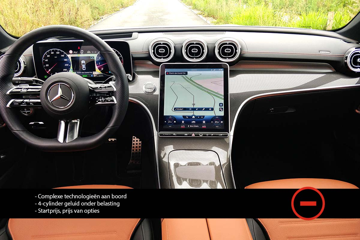Blogtest - Mercedes C300 2021 - AutoGids review