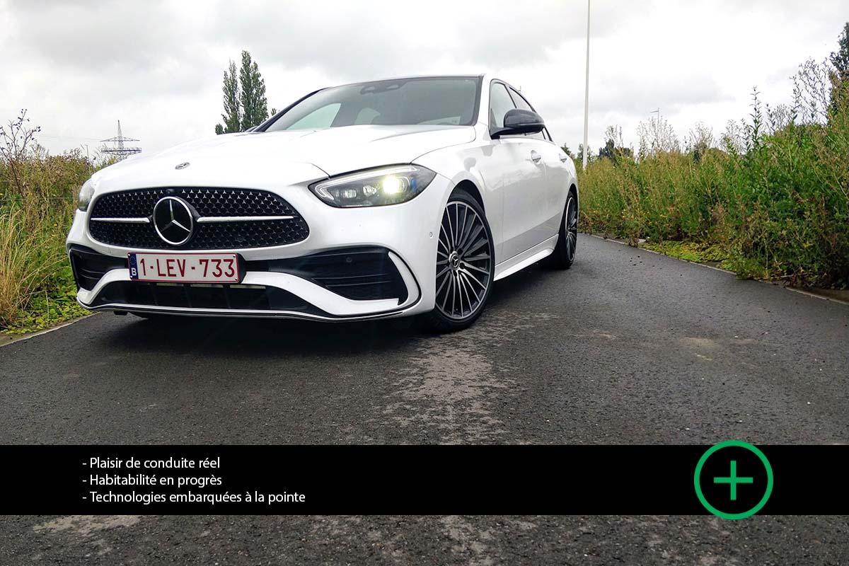 Essai blog - Mercedes C300 2021 - Moniteur Automobile