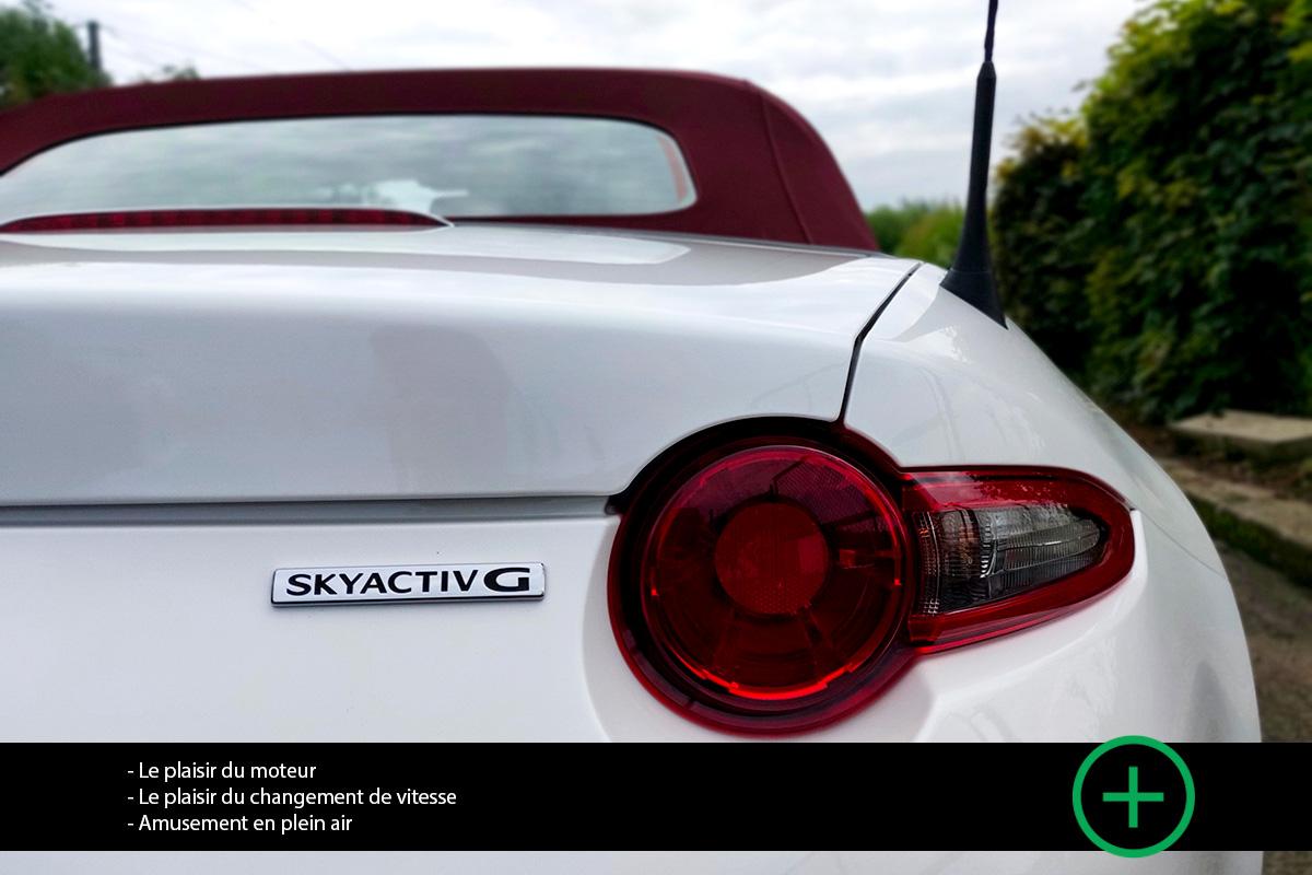 Mazda MX-5 1.5 SkyActiv-G - Essai Moniteur Automobile