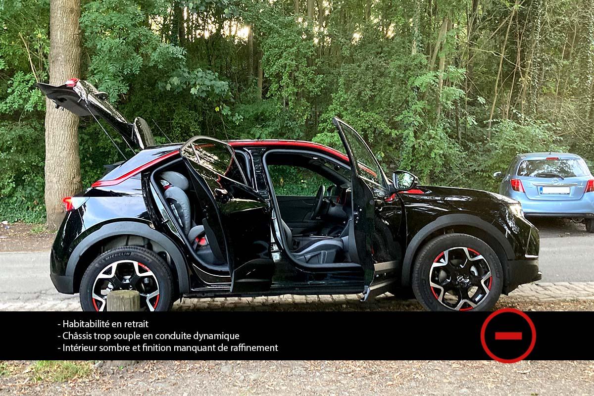 Opel Mokka 1.2 Turbo GS Line 2021 - Essai Moniteur Automobile