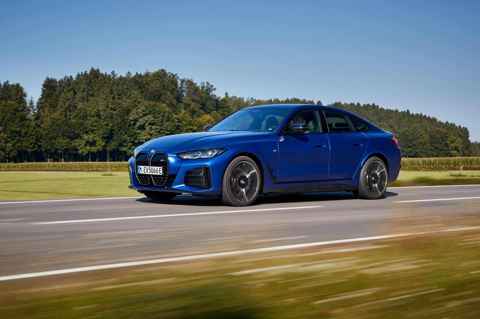 Test 2022 BMW i4 Main Information