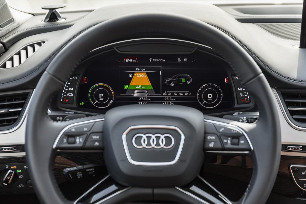 test test audi q7 e tron 3 0 tdi quattro 2015 autowereld. Black Bedroom Furniture Sets. Home Design Ideas