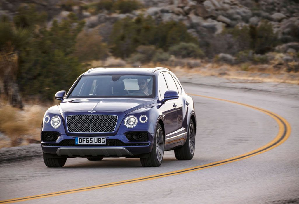 Essai Bentley Bentayga 2016 Moniteur Automobile