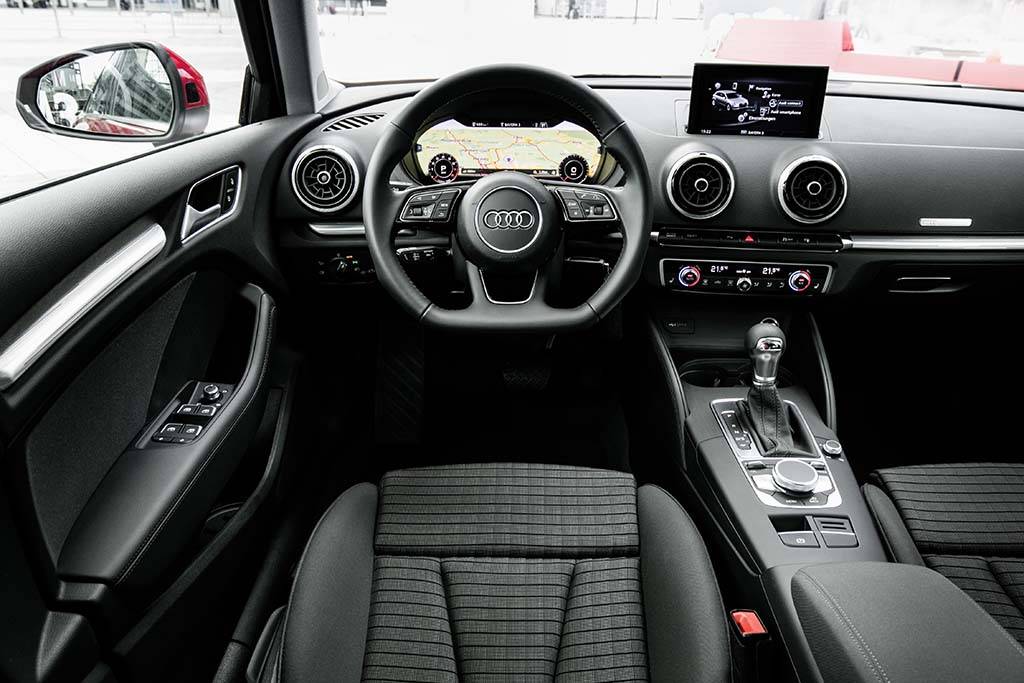 essai audi a3 1 0 tfsi 2017 moniteur automobile. Black Bedroom Furniture Sets. Home Design Ideas