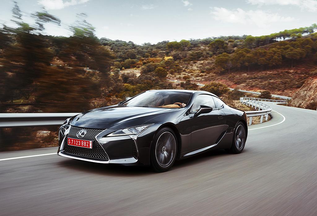 Lexus LC500 test