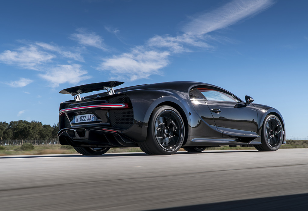 Bugatti Chiron test AutoWereld