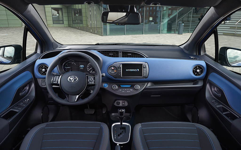 test toyota yaris 1 5 vvt i hybrid 2017 autowereld. Black Bedroom Furniture Sets. Home Design Ideas