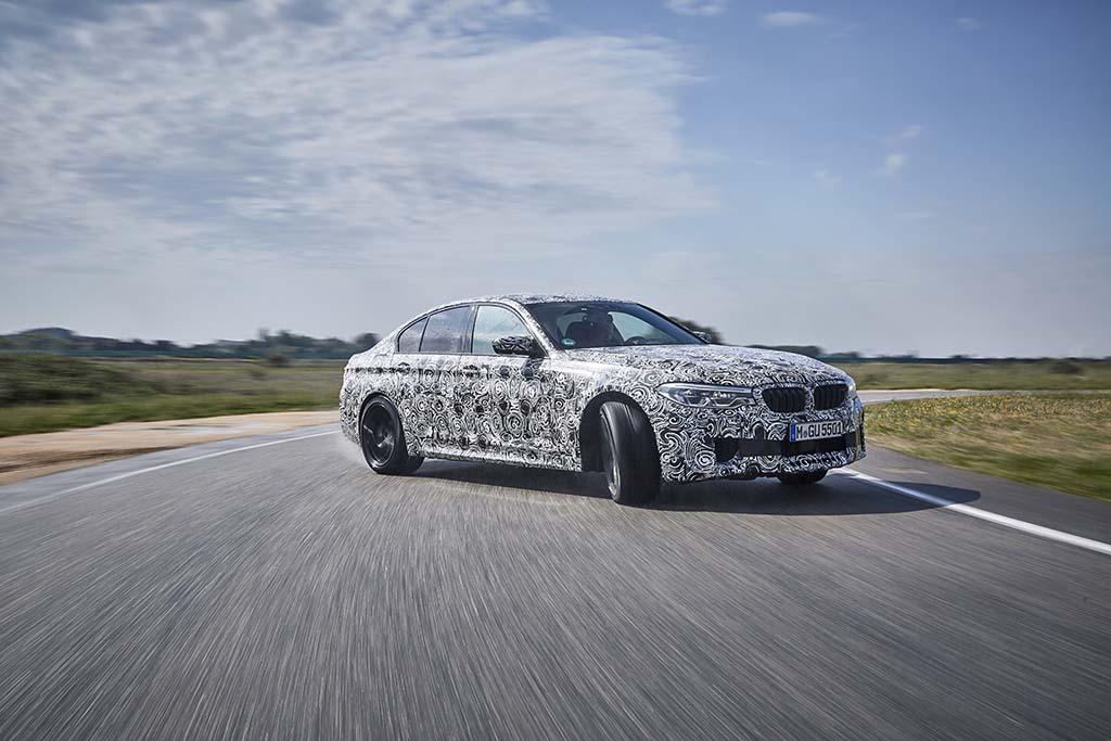 La BMW M5 passera de la propulsion à la transmission intégrale