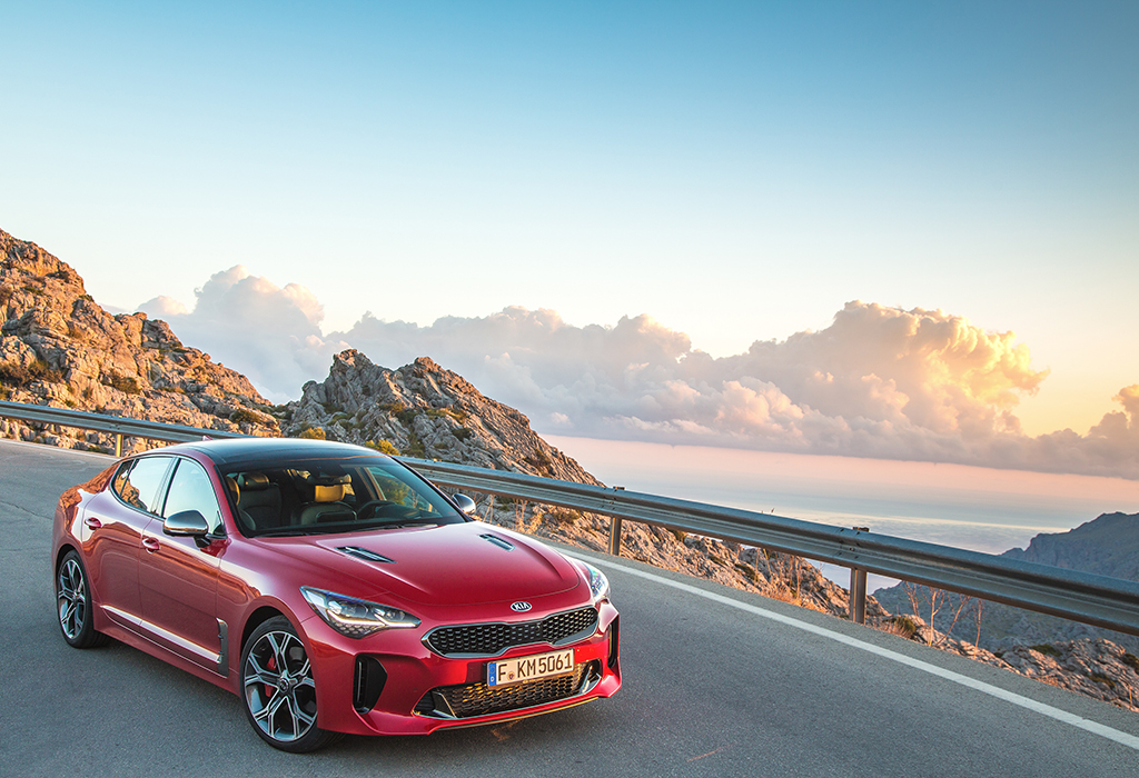 KIA Stinger GT V6 Turbo
