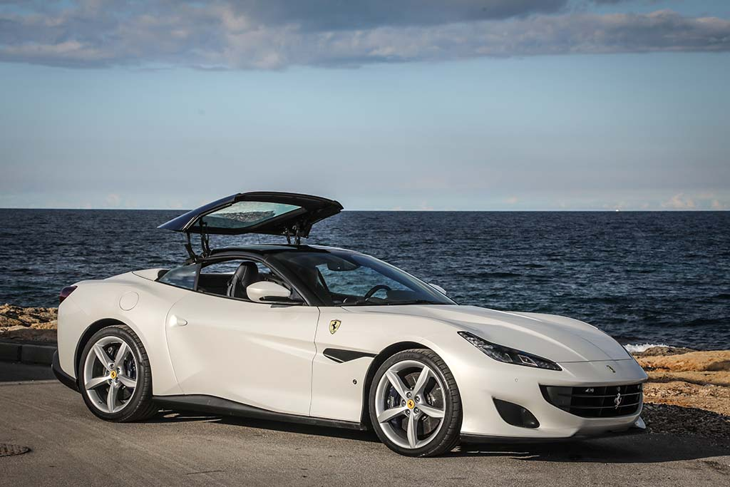 essai ferrari portofino 2018 west coast gt moniteur automobile. Black Bedroom Furniture Sets. Home Design Ideas