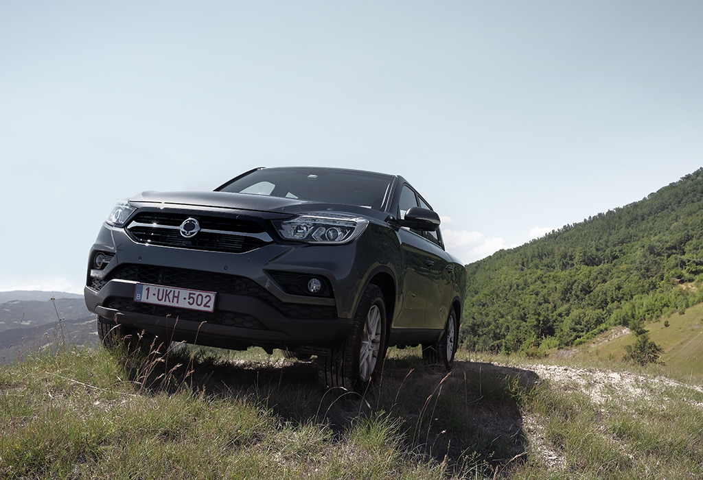 2018 Ssangyong Musso pick-up