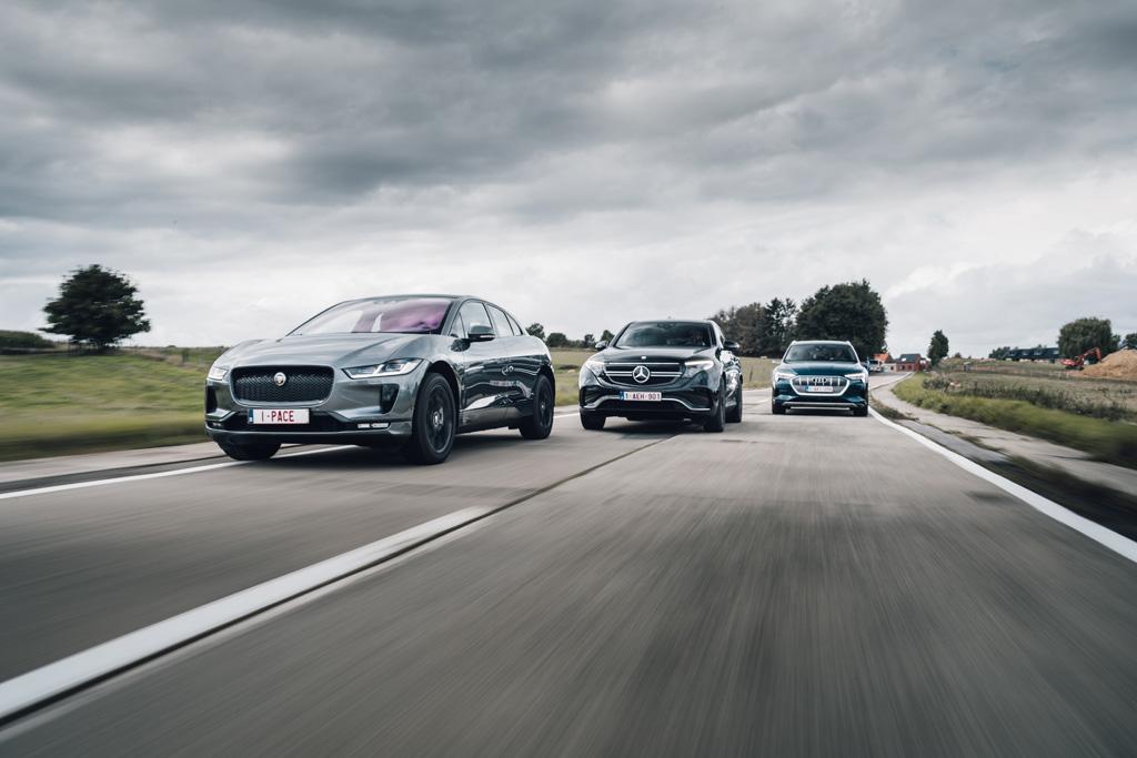 AutoWereld: E-Tron vs I-Pace vs EQC