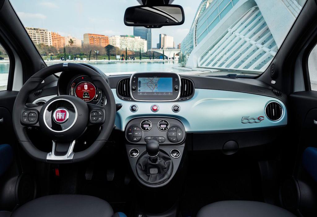 Test: Fiat 500 Hybrid - AutoWereld 2020