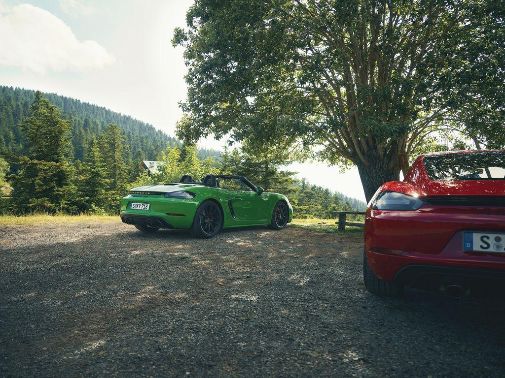 Porsche 718 Boxster et Cayman GTS 4.0