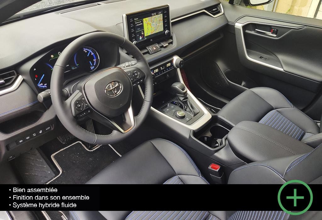 Essai Toyota RAV4 Hybrid / Moniteur Automobile