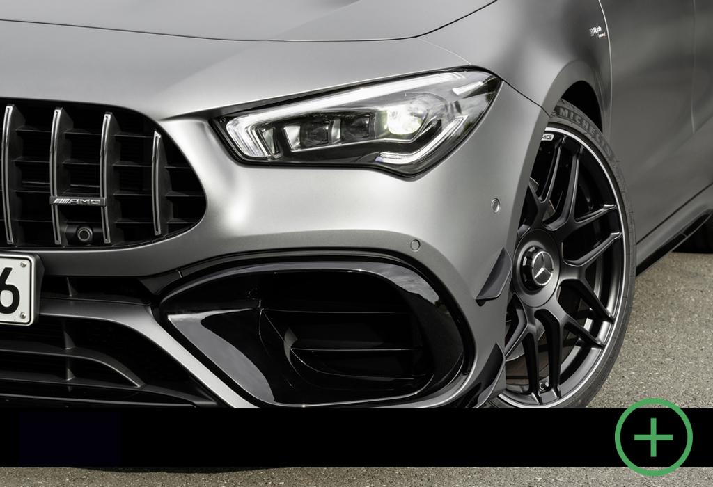 Blog / Mercedes-AMG CLA 45 S / Le Moniteur Automobile 2020