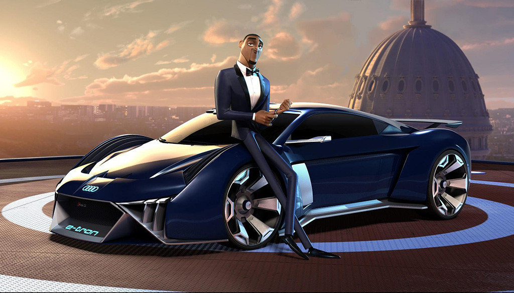 Spies in Disguise - Audi RSQ E-Tron