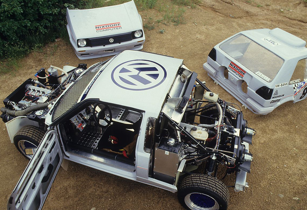 1987 VW Golf Twin Engine Pikes Peak