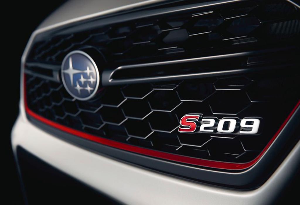 Teaser Subaru WRX STI S209 - NAIAS 2019