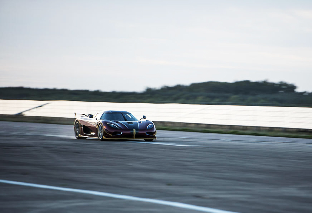 Record Koenigsegg Agera RS