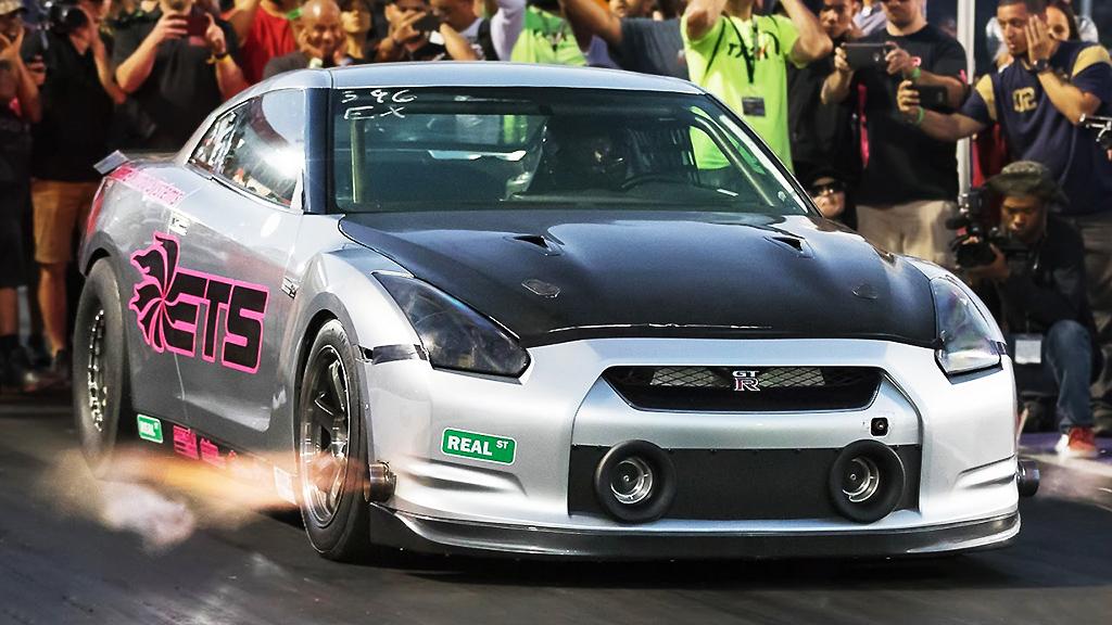 Nissan GT-R ETS quartermile record holder