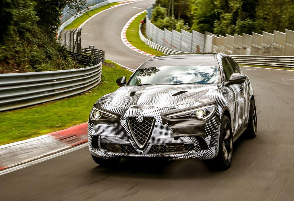Alfa Romeo Stelvio Nordschleife