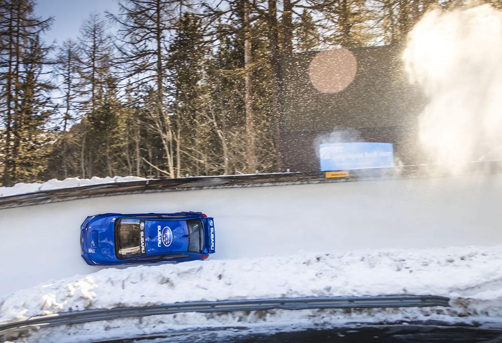 Subaru WRX STI bobslee