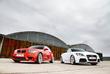 Audi TT RS vs BMW 1 M Coupé : Redelijk prettig