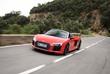 Audi R8 Spyder : Opération Tornado