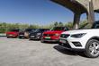 Seat Arona vs 4 kleine SUV'S