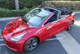 Deze Tesla Model 3 Cabrio bestaat echt. Sorry #3
