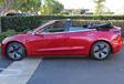 Deze Tesla Model 3 Cabrio bestaat echt. Sorry #5